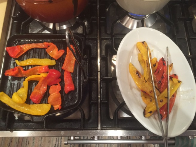 Clever cooking tip for roasted peppers